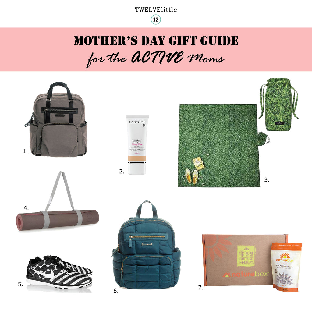 Mother's Day Gift Guide 2015 for the active moms