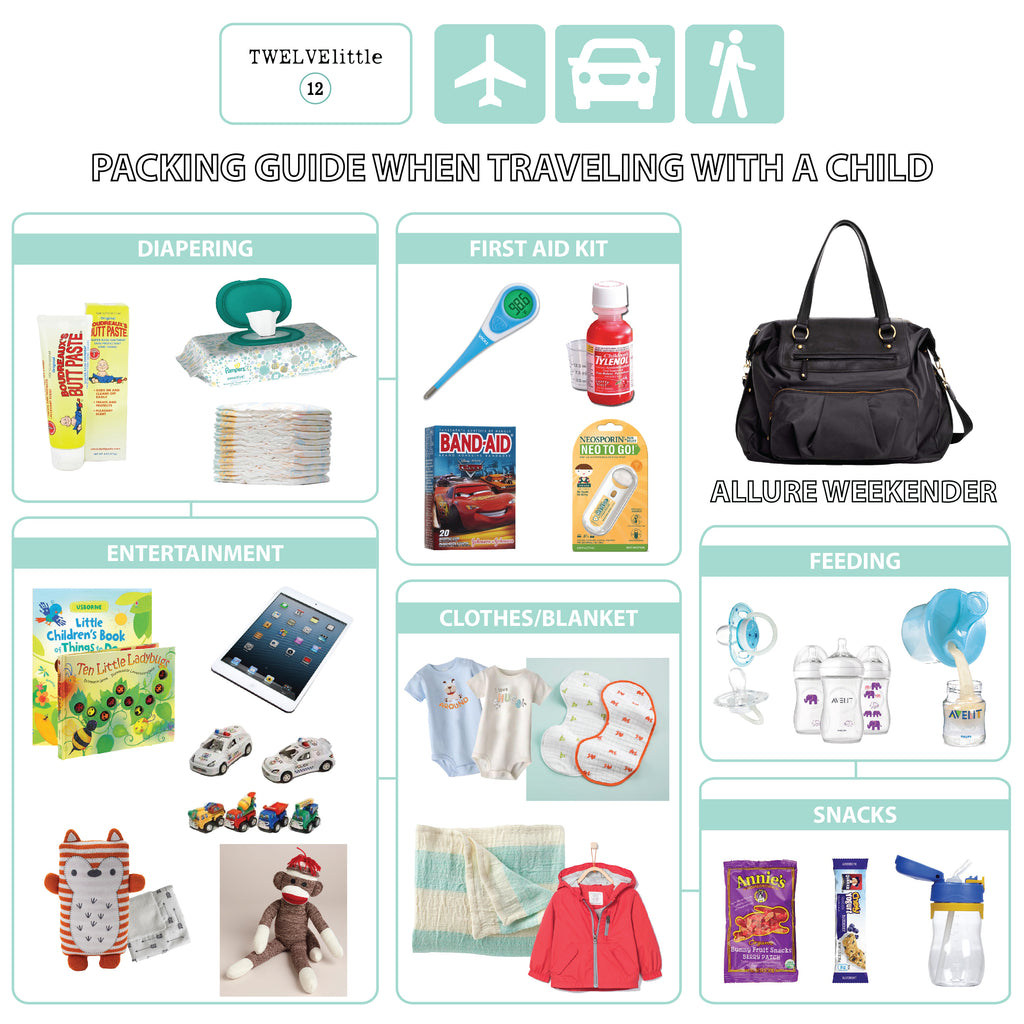Packing Guide when Traveling with a Child