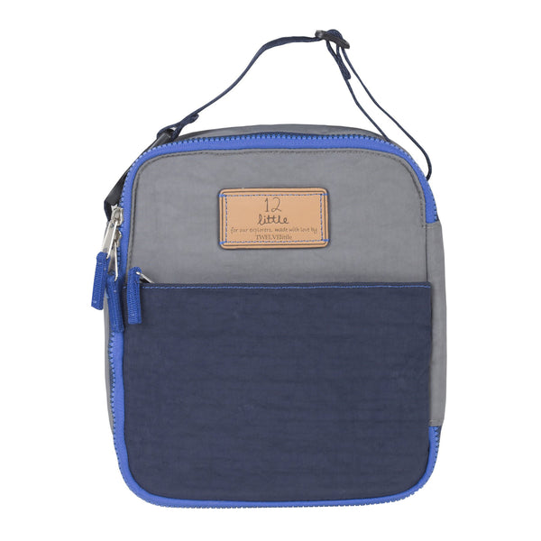 Courage Lunch Bag in Navy