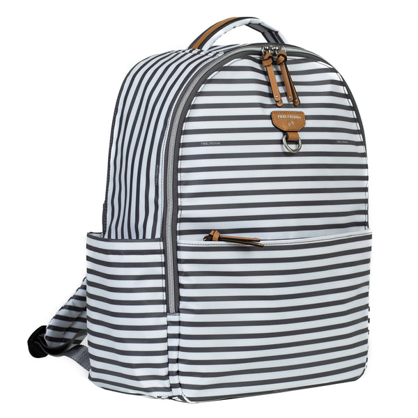 Mini-Go Backpack in Stripe Print 2.0 - TWELVElittle | Diaper Bags, Backpacks Diaper Bags, Diaper Bag Totes & Kids Fashion - Men, Women & Unisex