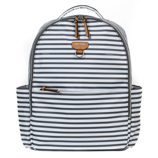 *NEW* On-The-Go Backpack in Stripe Print
