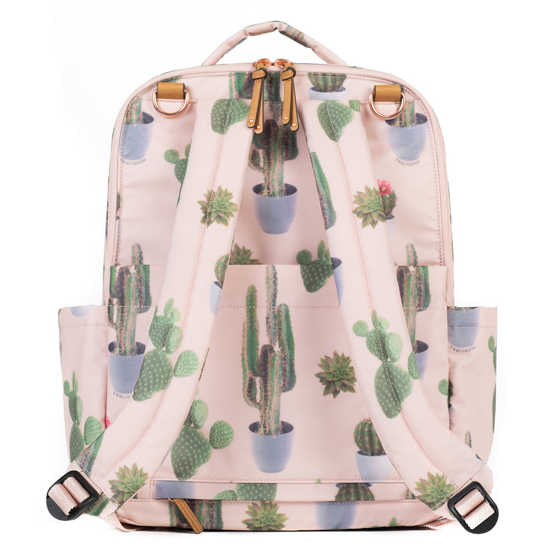 On-The-Go Backpack in Cactus Print 2.0 - TWELVElittle | Diaper Bags, Backpacks Diaper Bags, Diaper Bag Totes & Kids Fashion - Men, Women & Unisexv