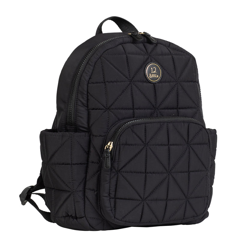 Little Companion Backpack in Black 2.0 - TWELVElittle | Diaper Bags, Backpacks Diaper Bags, Diaper Bag Totes & Kids Fashion - Men, Women & Unisex