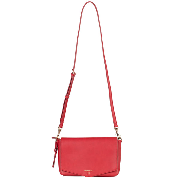 Peek-A-Boo Crossbody in Red | TWELVElittle Mens, Womens & Unisex Crossbody diaper bags