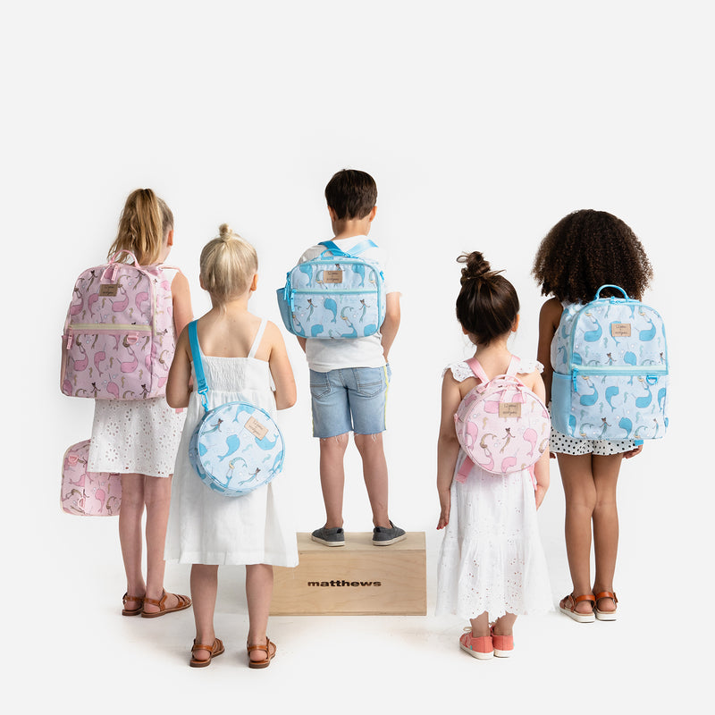 12Little x Sarah Jane - Under the Sea Backpack in Pink