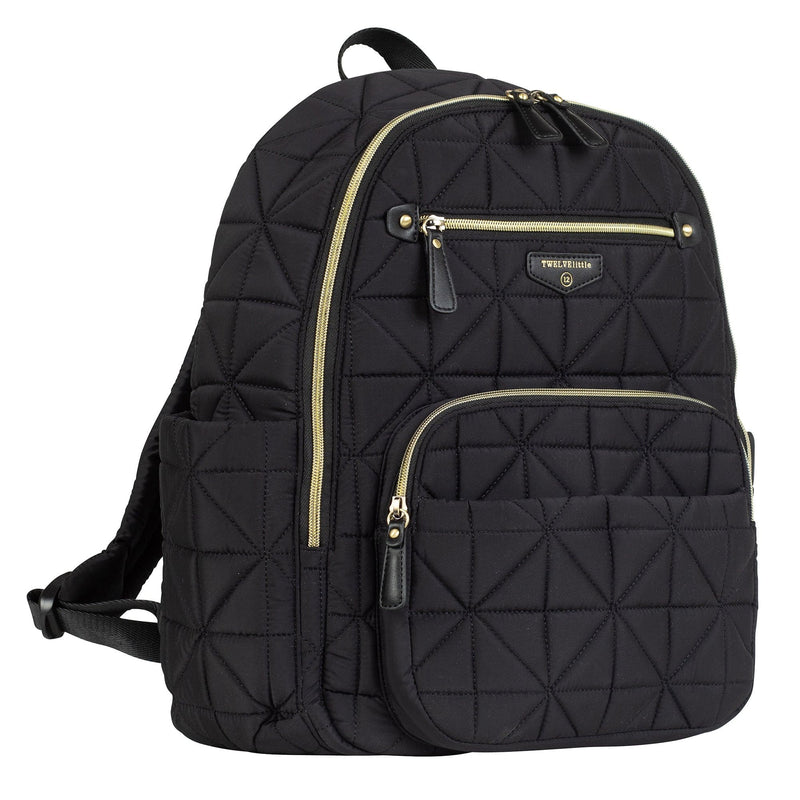 Companion Backpack in Black 2.0 - TWELVElittle | Diaper Bags, Backpacks Diaper Bags, Diaper Bag Totes & Kids Fashion - Men, Women & Unisex