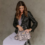 12Little Diaper Clutch in Leopard Print 3.0 (Restock in June 2021)