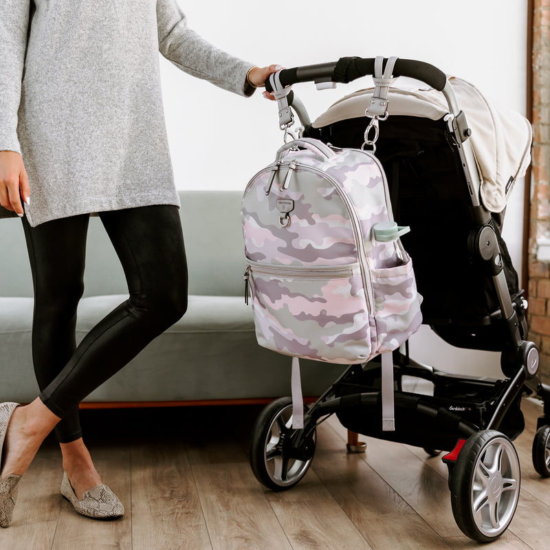 On-The-Go Backpack 3.0 in Blush Camo