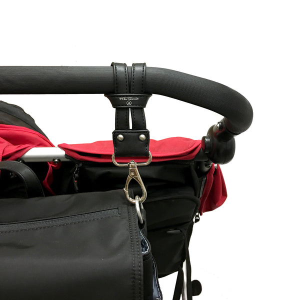 On-The-Go Stroller Clips in Black