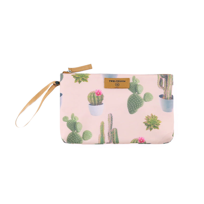 On-The-Go Insulated Pouch in Cactus Print