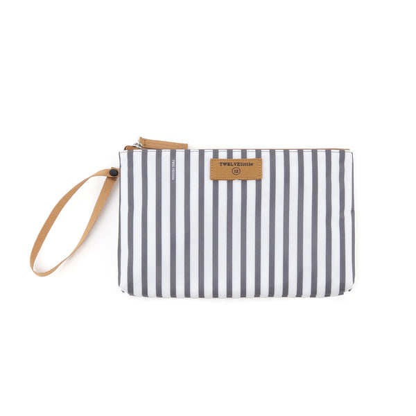 On-The-Go Insulated Pouch in Stripe Print *Backordered till July 13th*