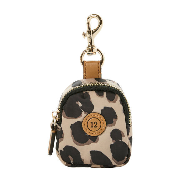 Little Pouch Charm in Leopard Print (Excluded From Sale)