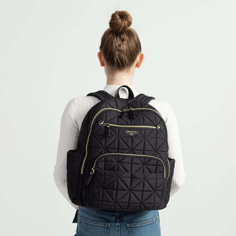 Companion Backpack in Black 2.0