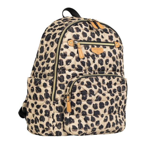 Companion Backpack in Leopard Print 2.0 - TWELVElittle | Diaper Bags, Backpacks Diaper Bags, Diaper Bag Totes & Kids Fashion - Men, Women & Unisex
