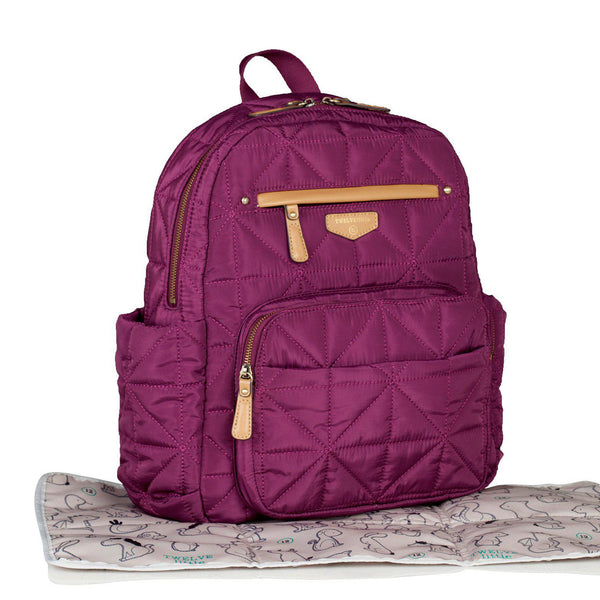 Companion Backpack Plum