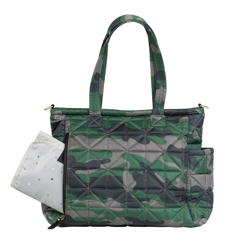 Carry Love Tote in Camo Print 2.0 - TWELVElittle | Diaper Bags, Backpacks Diaper Bags, Diaper Bag Totes & Kids Fashion - Men, Women & Unisex