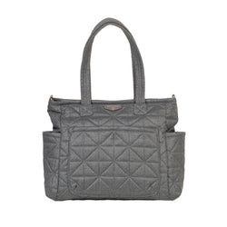 Carry Love Tote in Grey Nylon 2.0