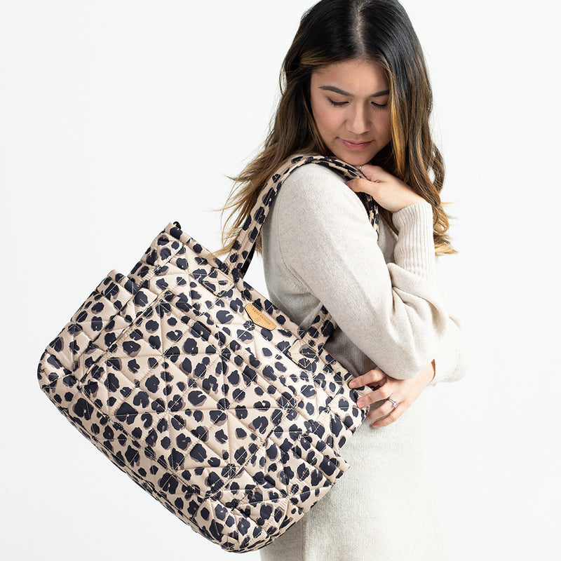 Carry Love Tote in Leopard 2.0