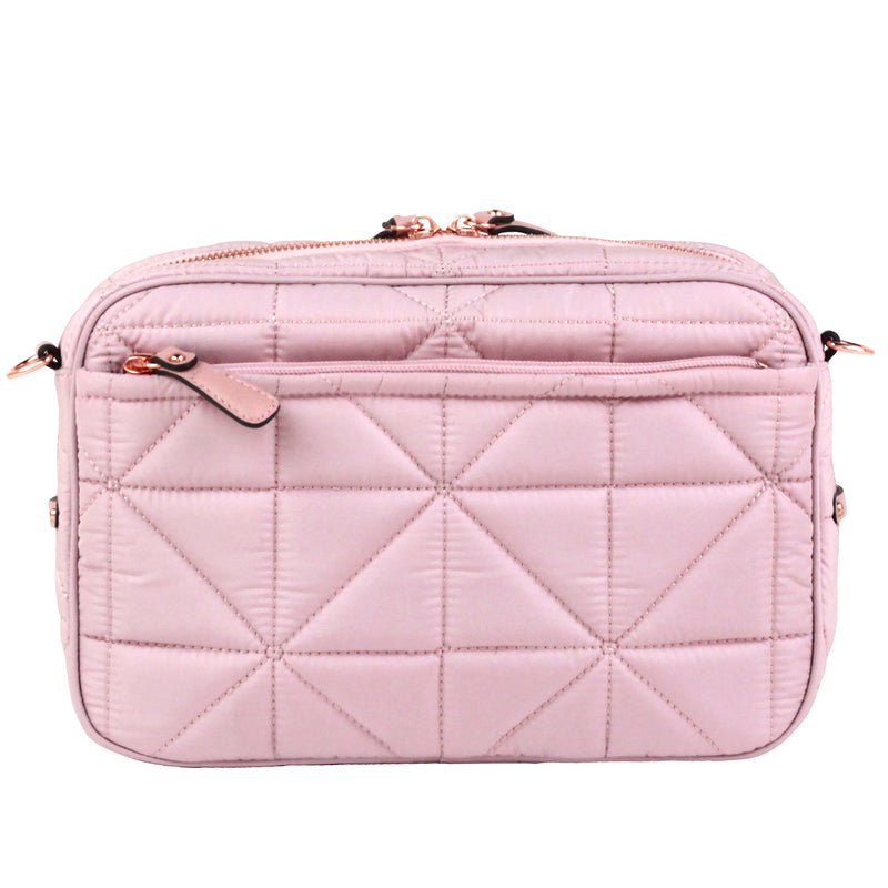 12Little Diaper Clutch in Blush Pink 2.0