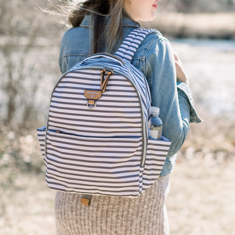 Mini-Go Backpack 2.5 in Stripe