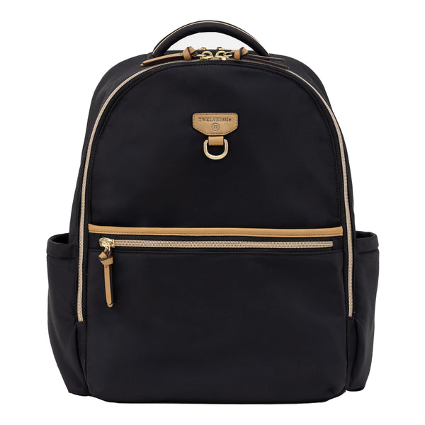 On-The-Go Backpack 3.0 in Black/Tan