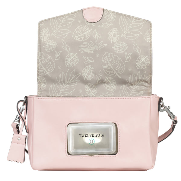 Peek-A-Boo Crossbody in Blush Pink