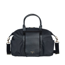 Peek-A-Boo Satchel in Black