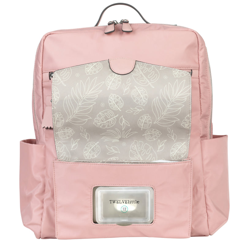 Peek-A-Boo Backpack in Blush Pink