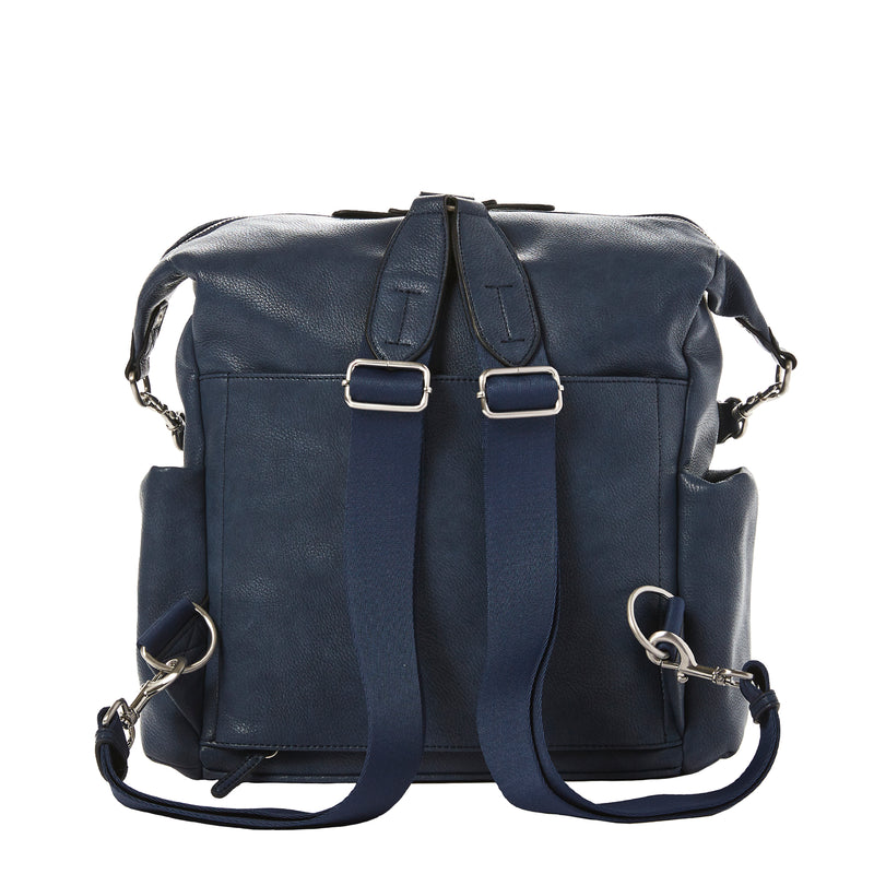 Peek-A-Boo Hobo Backpack in Navy