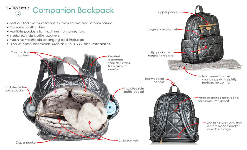 Companion Backpack Plum 1.0