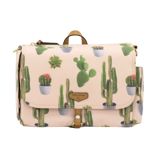 On-The-Go Stroller Caddy Organizer in Cactus Print 3.0