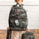 Adventure Backpack in Camo Print