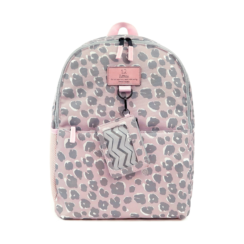 Adventure Backpack in Pink Leopard
