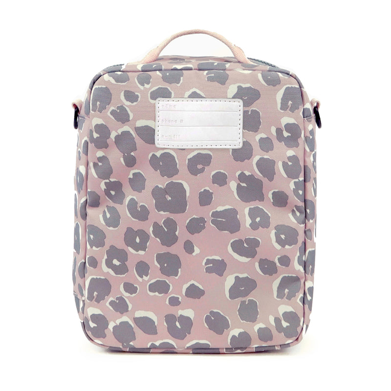 Adventure Lunch Bag in Pink Leopard