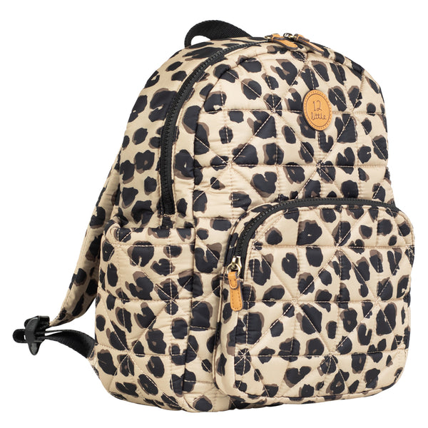 Little Companion Backpack in Leopard Print 2.0