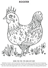 12Little Downloadable Animal Coloring Book - Sheep