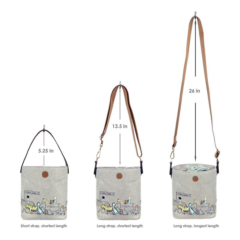12Little x Sarah Jane - Parade Bottle Bag in Tan