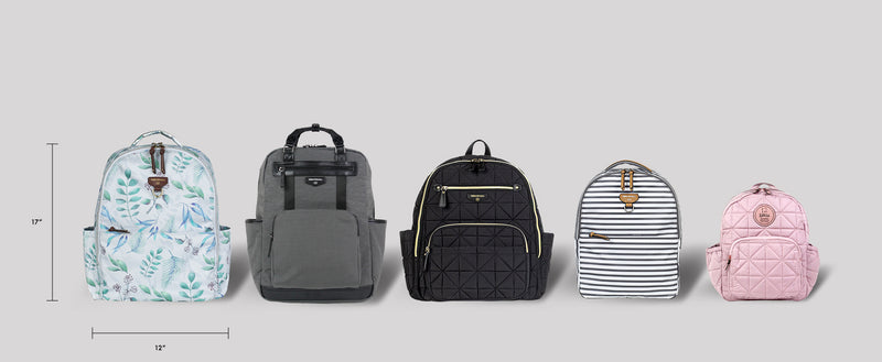 On-The-Go Backpack in Stripe Print 2.0
