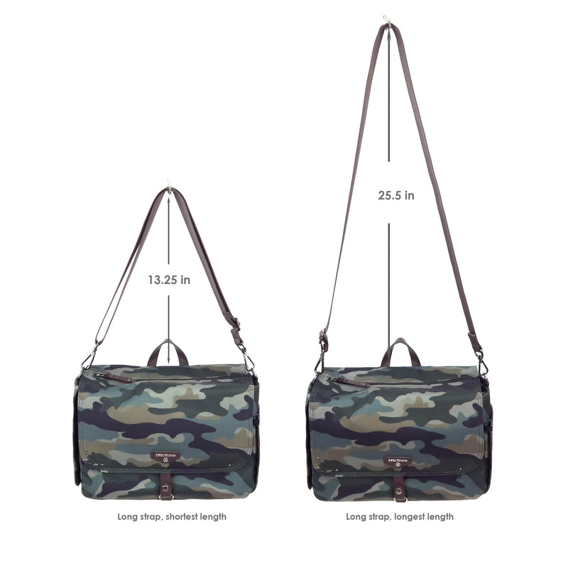 On-The-Go Stroller Caddy Organizer in Camo Print 2.0