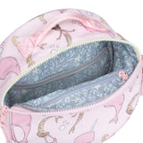 12Little x Sarah Jane, Under the Sea Round Bag in Pink