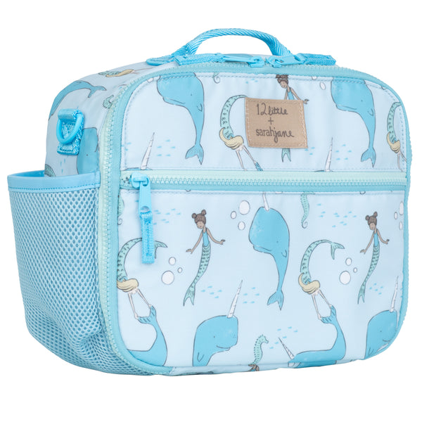 12Little x Sarah Jane, Under the Sea Lunch Bag in Blue