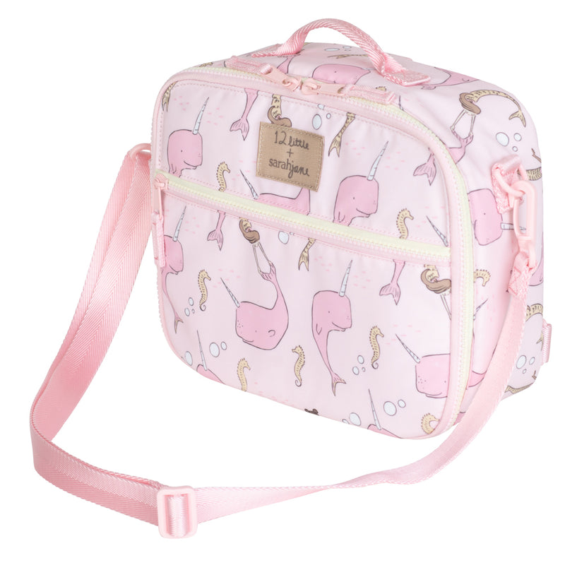 12Little x Sarah Jane, Under the Sea Lunch Bag in Pink