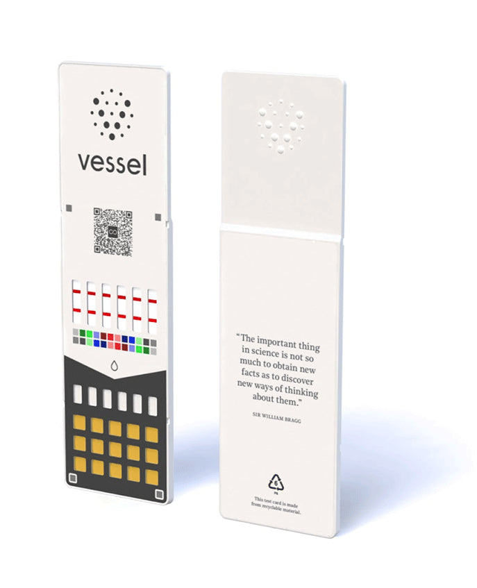 4 Vessel Wellness Test Cards