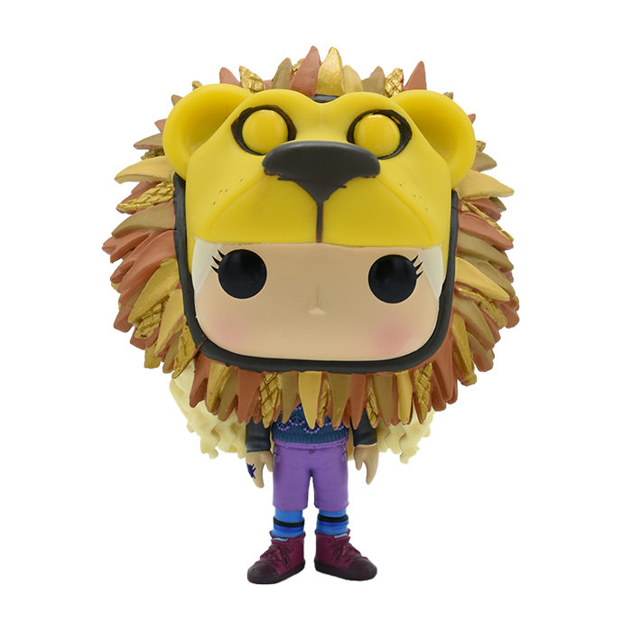 LUNA LOVEGOOD W/ LION HEAD FUNKO HARRY POTTER AMARILLO