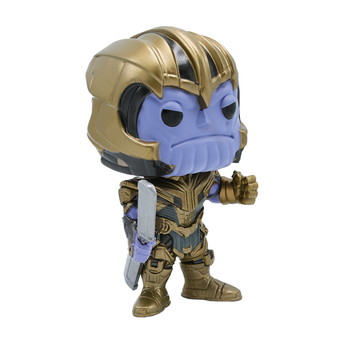 FIGURA FUNKO POP! THANOS MARVEL AVENGERS ENDGAME