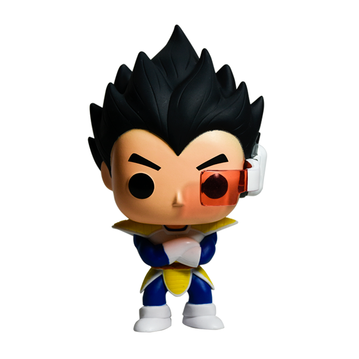 VEGUETA FUNKO DRAGON BALL Z NEGRO No10