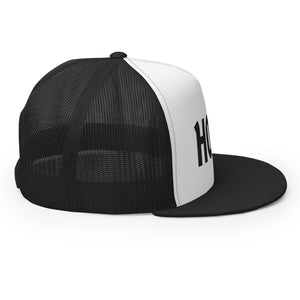 The Ascension High Fashion Street Logos Line 5 Panel Trucker Cap Yupoong