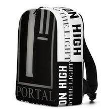 Load image into Gallery viewer, The Ascension High Fashion Street Portal Line Minimalist Backpack