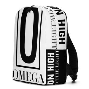 The Ascension High Fashion Street Omega Minimalist Backpack