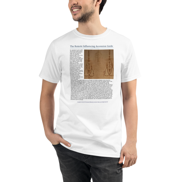 Ascension And The Living Christ - Men's T-Shirt - High Fashion